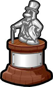Employee Of The Month Trophy Employee Of The Month Trophy Club Penguin Wiki Fandom