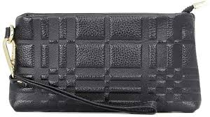 Aladin <b>Genuine Leather</b> Clutch Purse multi-functional Zippered ...