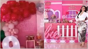Al estilo Barbie! Emma Coronel celebra cumpleaños de sus gemelas, hijas de