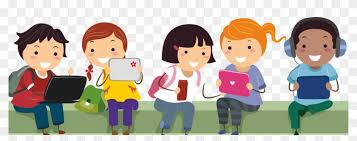 Image Result For Send Cartoon Children Using Ict - Learning Is Fun Png -  Free Transparent PNG Clipart Images Download