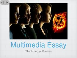 the hunger games multimedia essay outline presentation