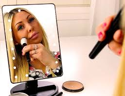 lighted makeup mirror reviews