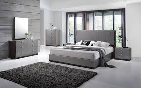 Revealing Modern Grey Bedroom Romantic Furniture Contemporary European  Style Set ...