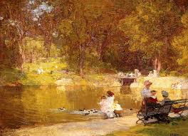 edward henry potthast in central park