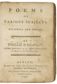 phillis wheatley essay title page memoir and poems of phillis wheatley a native african and a slave essay and