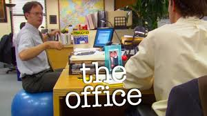 Office Ball Dwights Fitness Orb The Office Us Youtube