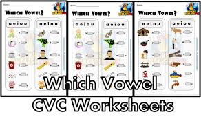 These are considered the simplest words and the starting point of many phonics programs (after some work on initial sounds). Which Vowel Cvc Worksheets Editable Making English Fun