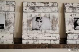 diy picture frames diy distressed wood