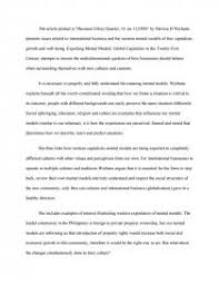 position paper exporting mental models essay zoom zoom zoom