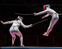 best photos from the rio olympic games com a pair of fencers in rio