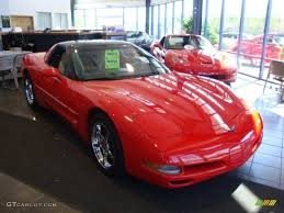 1999 Torch Red Chevrolet Corvette Coupe #29266234 | GTCarLot.com ...