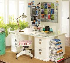 clear office desk. Vintage Office Room Design With Professional Middle Pottery Barn Desk Organization, Clear Glass Table