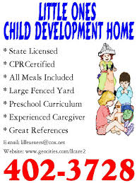 Examples Of Daycare Flyers Coastal Flyers