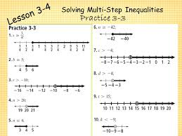 19 solving multi step inequalities