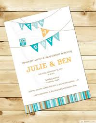 And Blue Owl Baby Boy Shower Invitations Bs087Owl Baby Shower Invitations For Boy