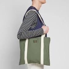 Tote Bag Olive Sateen
