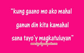 Tagalog Love Quotes For Him Custom Inspirational Love Quotes For Her Tagalog 48 Joyfulvoices