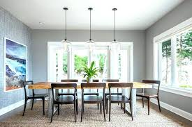 hanging dining room lights dining table pendant light hanging light above dining table within how high