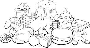Healthy Foods Printable Coloring Sheets Free Printable Healthy Food