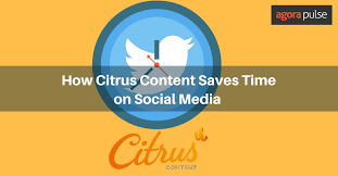 How Citrus Content Saves Time on Social Media Management ...