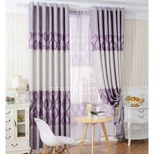 Purple Bedroom Curtains Room Darkening Bedroom Curtains In Purple And Blue Color With