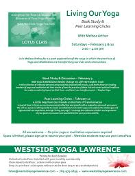 events workshops westside yoga
