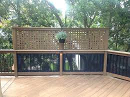 Privacy deck rail Basic Wood Deck Privacy Deck Railings Photos Screening For Railing Image Result Adding Screen Existing Add Priva Shizzme Privacy Deck Railings Photos Screening For Railing Image Result