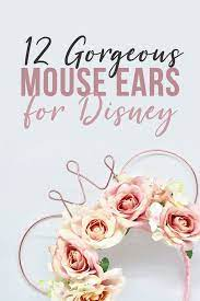 12 unique mouse ears to bring to disney