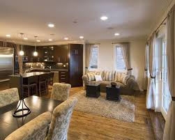 ... Medium Image For Chic Small Open Kitchen Living Room Dining Room Open  Kitchen And Living Modern