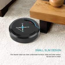 Otomatik akıllı süpürme robotu ev USB şarjlı süpürge Robot zemin kir t –  Grandado.com TUR