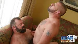 Hairy bears fucking one another