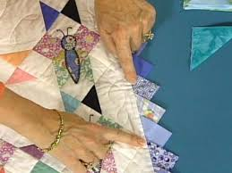 Quilt Border Patterns Fascinating Prairie Point Quilting Borders 48 HGTV