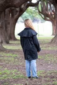 Driza Bone Short Coat Oilskin Black