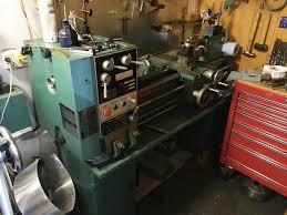 drill press metal lathe. industrial bolton lathe, n\u0026g milling, air comp,chop/band saw, drill press metal lathe