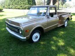 Chevrolet C-10 C10-Stepside;long bed pickup truck 1969, I am the second