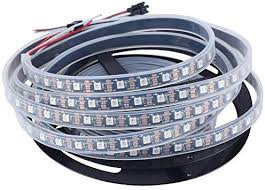 CHINLY <b>5m</b> WS2812B <b>Individually Addressable</b> LED Strip Light ...