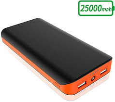 FKANT Power Bank 25000mAh Portable <b>Phone</b> Charger External ...