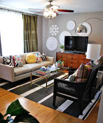 charming eclectic living room ideas. View In Gallery Eclectic Living Room With Pops Of Color And Wall Art [From: Nuestra Vida Dulce Charming Ideas :