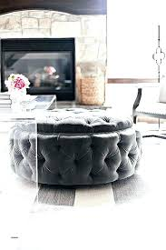 diy zinc table top acrylic table top coffee table top ideas unique round upholstered tufted ottoman
