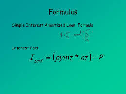 loan formulas amortized loans mat 142 amortized loans ppt download