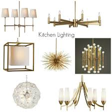 glam lighting. glam lighting for the kitchen simply modern home