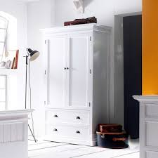 Landhaus Schlafzimmer Komplett Set In Weiß Venzeno 6 Teilig