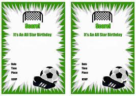 Free Football Invitation Templates 003 Football Party Invitations Templates Free Template