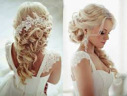 hairstyles for brides with long hair photo 12