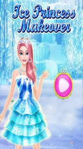 barbie hairstyle and dress up games beautiful ice princess makeup salon dress up parlor