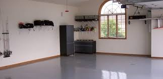 Interior floor paint Painted Armorclad Garage Basement Kit Grey Flooring In Organized Home Garage Armorpoxy Garage Floor Coating Armorpoxy Garage Flooring Paint