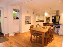 Kitchen Diner Flooring Modern Living In The Open Plan Kitchen Diner New Home Finder