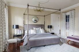 uptown new orleans master bedroom custom bed velvet chaise and pattern ds