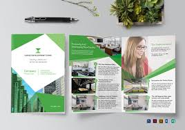 Brochure Templates For It Company Company Proposal Brochure Template