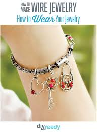 wire jewelry ideas for personalizing jewelry custom wire wrapping ideas